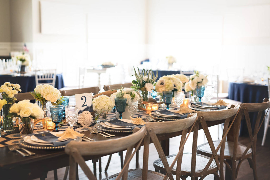Nautical Wedding at Sugar Valley by Ashley Fox Photography