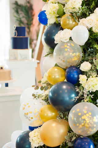 Nautical Wedding Reception Design at Sugar Valley Mark Garber Photography