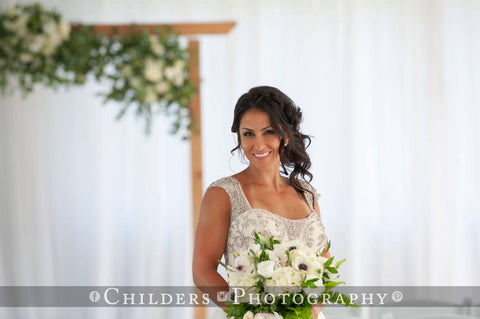Nautical Wedding at Sugar Valley Golf Club photo by Childers Photography