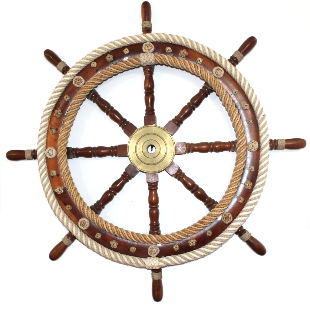 Dressed Wheel Nautical Knots by Alton Beaudoin