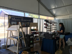 Sailor Knot Bracelet setup at Newport Boat Show