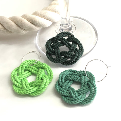 green wine charms
