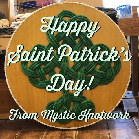 Happy Saint Patricks Day - celtic shamrock
