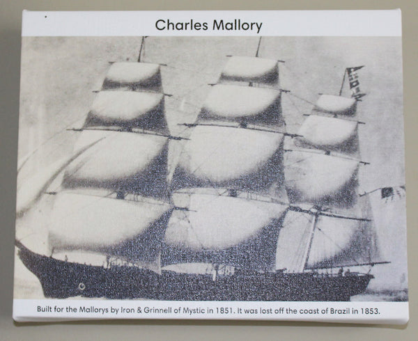 rendering of the Charles Mallory sailing ship