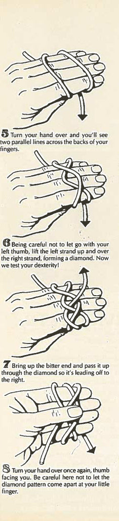 Turk's Head Sailor Knot Instructions 5-8 Mystic Knotwork