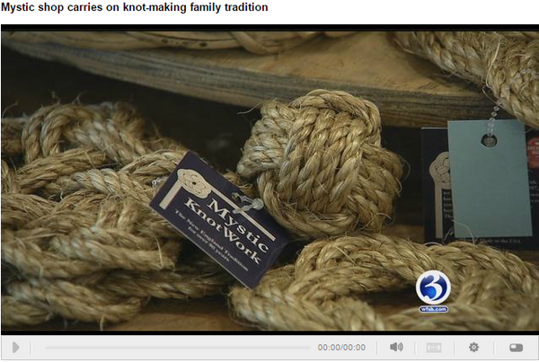 WFSB Featured Mystic Knotwork on the news!