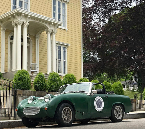 Mystic Knotwork's Knot Mobile, an Austin Healey Sprite