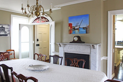 Charles Mallory House dining room