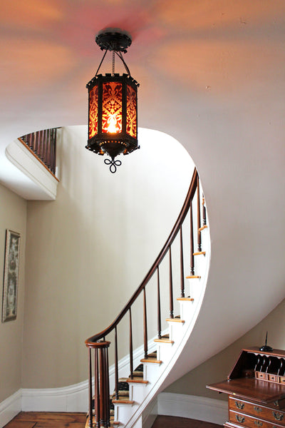 Charles Mallory House entry stairway