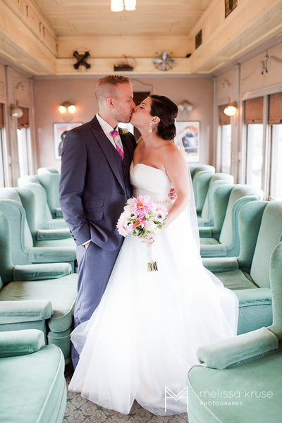 Essex Steam Train Wedding