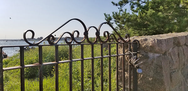 stonington point fence mystic knotwork