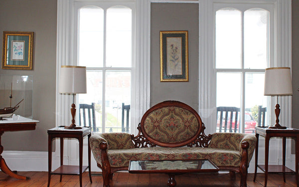 Charles Mallory House front parlor