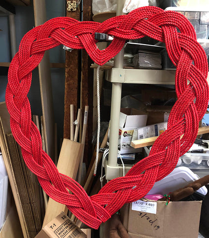 Mystic Knotwork custom Valentine Wreath