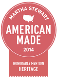 Heritage Award Martha Stewart American Made for Mystic Knotwork sailor knots