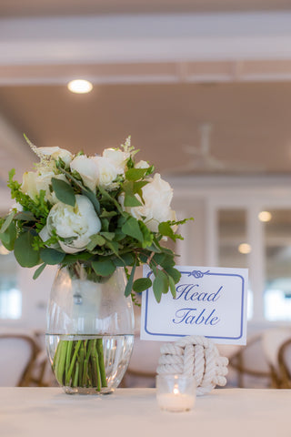 nautical wedding reception table ideas