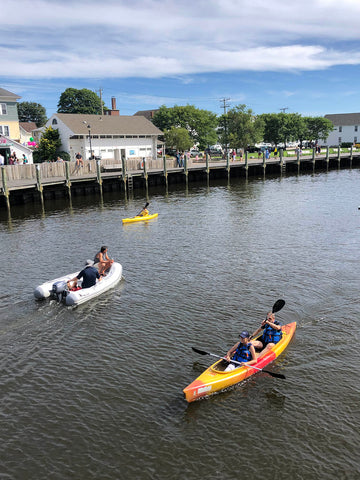 Kayaking Mystic River CT