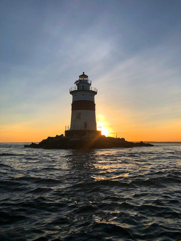 Latimer Reef Light Mystic Connecticut