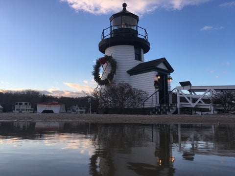 The lighthouse at Mystic Seaport