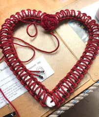 Mystic Knotwork's heart shaped wreath