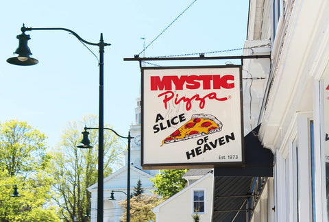 Mystic Pizza in Downtown Mystic