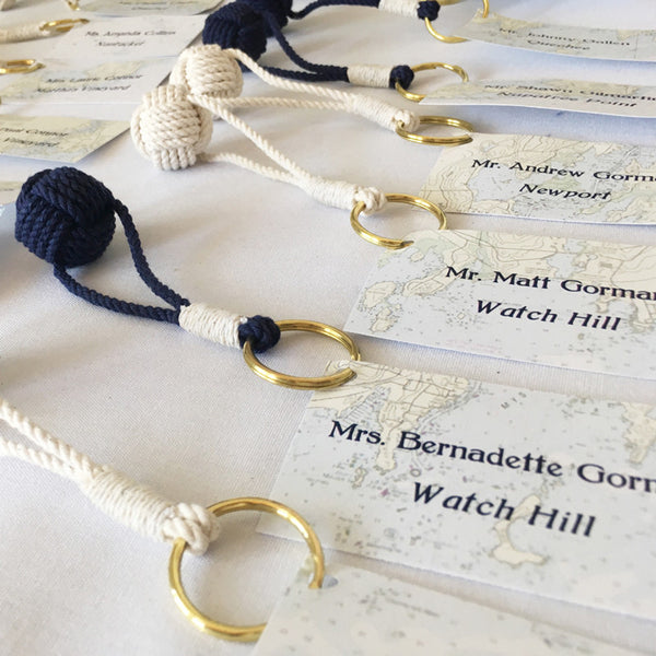 Nautical Escort Cards