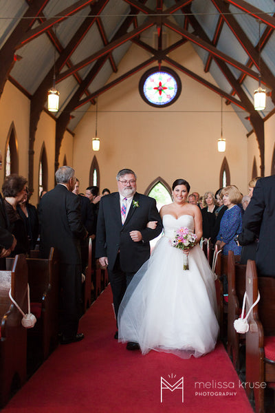 Pequot Chapel Bride & Father