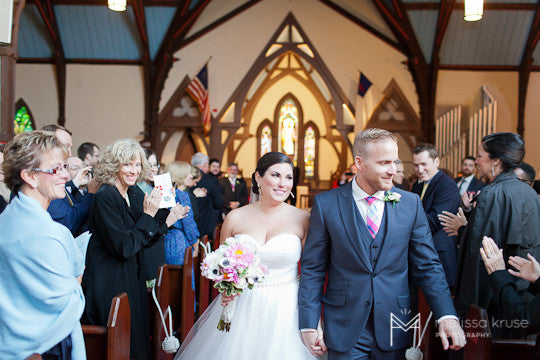 Bride & Groom - Pequot Chapel