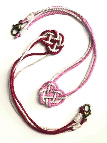 Heart Knot necklaces Mystic Knotwork