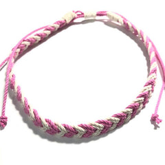 Pink Chevron necklace Mystic Knotwork