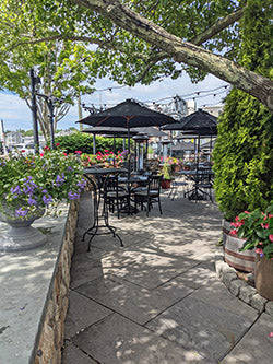 s and p oyster stone patio mystic