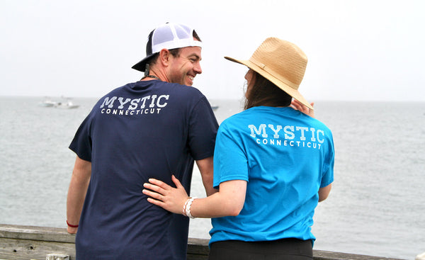 Tee shirts for two mystic knotwork