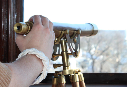 Mystic Knotwork bracelet and view from Spicer Mansion