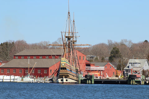 The Mayflower at the Mystic Seaport