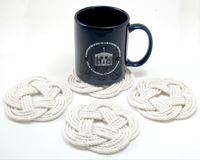 Tree Hugger Shoppers Guide including Mystic Knotwork nautical coasters