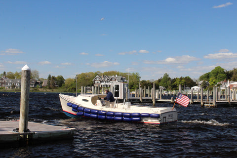 The Watch Hill Yacht Club tender