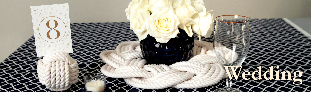 Nautical Wedding Knots Decorations Mystic Knotwork