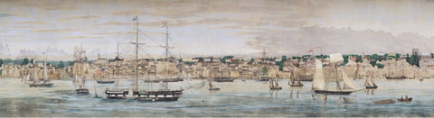 New Bedford Whaling Museum's panorama