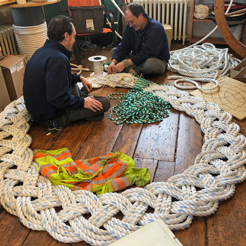Mystic Knotwork giant rope wreath