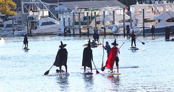 Witch Paddle underway in Mystic