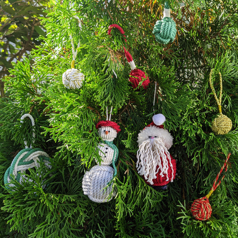 Mystic Knotwork ornaments for the tree