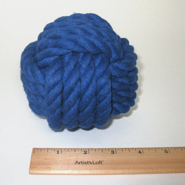 "Nautical Knot Card Holder, Blue, 4.5"", 4-Pass - Mystic Knotwork nautical knot"