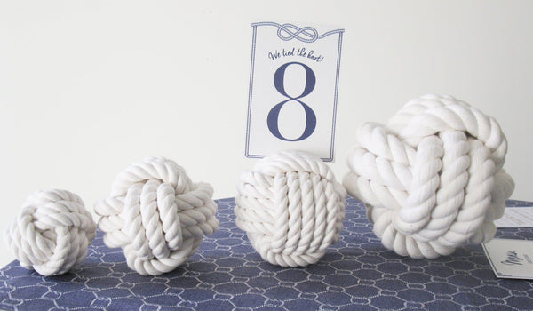 "Nautical Knot Card Holder, White, 4.5"", 5-Pass - Mystic Knotwork  - 2"