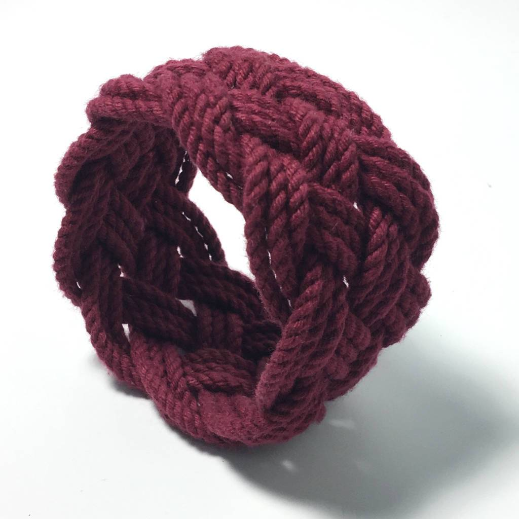 Wide Sailor Knot Bracelet 18 Colors