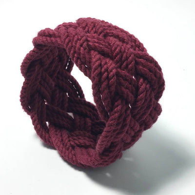 Nautical Wide Sailor Knot Bracelet 18 Colors Handmade sailor knot American Made in Mystic, CT $ 12.00