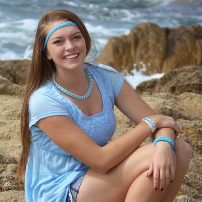 Bulk Pricing Woven Sailor Necklace, 17 Colors