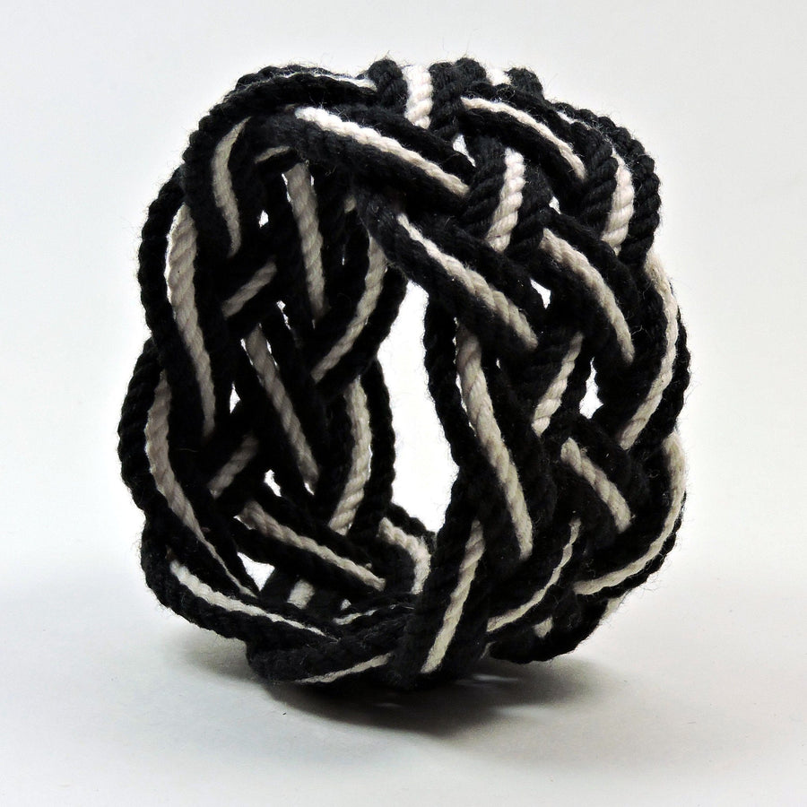 Wide Striped Sailor Knot Bracelet - Mystic Knotwork nautical knot