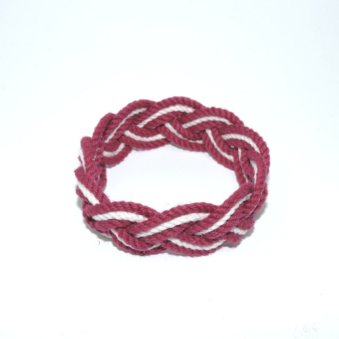 Striped Sailor Bracelet, Various Burgundy - New! - Mystic Knotwork  - 5