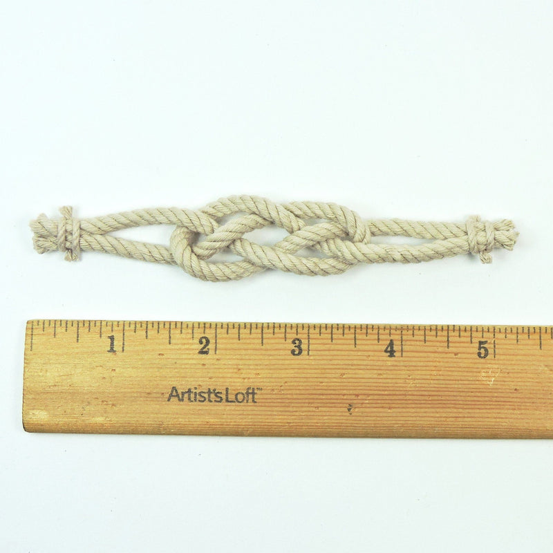 Nautical Carrick Bend Boutonniere Handmade sailor knot American Made in Mystic, CT $ 3.00
