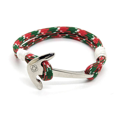 Christmas Nautical Anchor Bracelet Stainless Steel 069