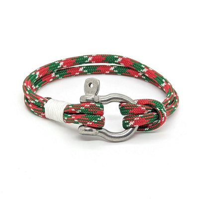 Christmas Shackle Bracelet
